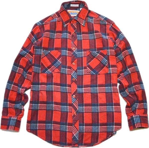 長袖チェックシャツ画像@古着屋カチカチ