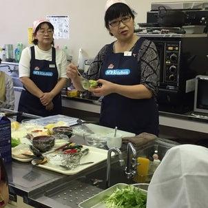 料理教室大盛況‼の画像