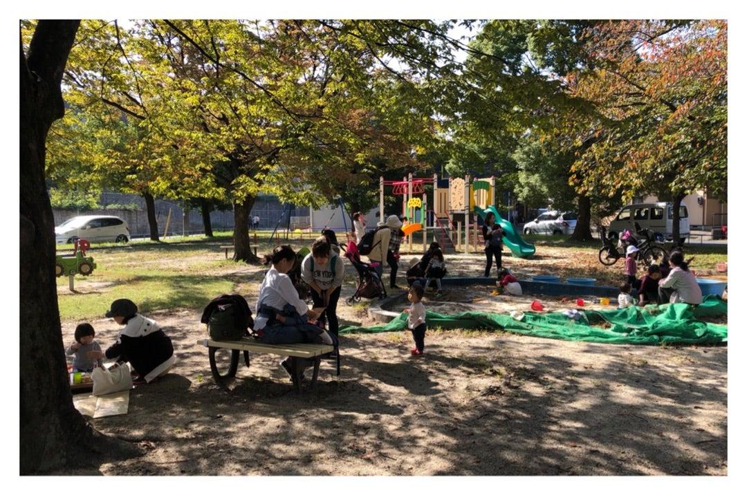 楽しく公園でコラボ企画でした!