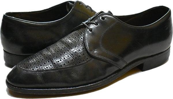ウイングチップ革靴レザーシューズ@古着屋カチカチ