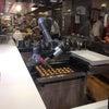 フードコートにロボットが!の画像