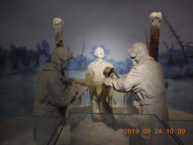 巨大な組織  ハルピン 731部隊の博物館 (3)