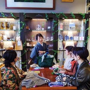 ふろしき×日本茶♪笑顔いっぱい秋の一日講座inスィデコの画像