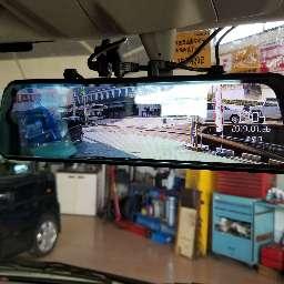 前後ドライブレコーダー取付 エブリィワゴン セレナ スズキオート泉南のブログ