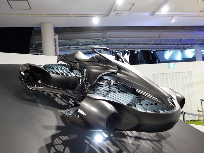 ショー 東京 飛ぶ モーター 車 空