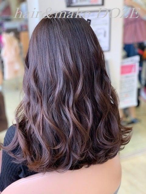 続 髪質改善プレミアムトリートメントからの巻きアレンジ。