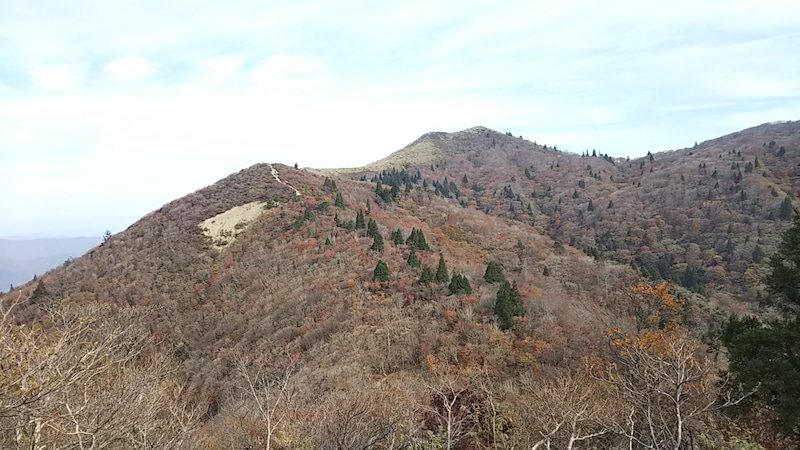 武奈ヶ岳頂上付近