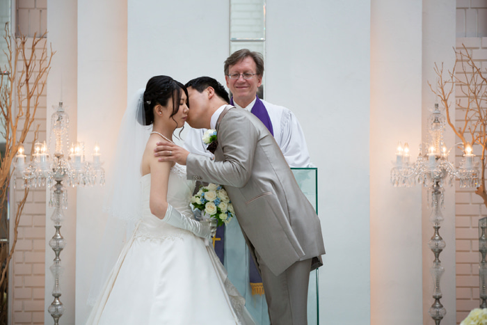 ホテルメルパルク横浜での結婚式 Part2 キリスト教式 ウエディング