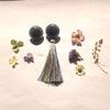 お花のセミオーダーイヤリングの画像