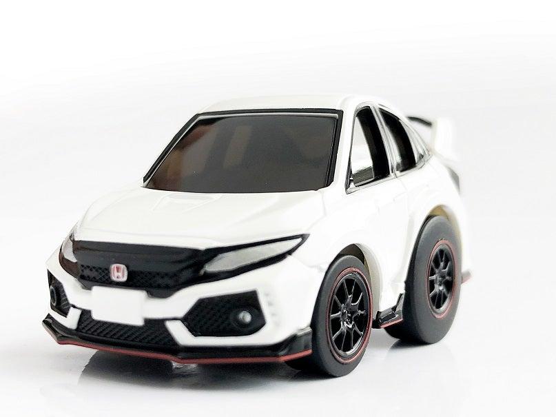 Choro-Q zero Z-64a Civic type R FK8 white