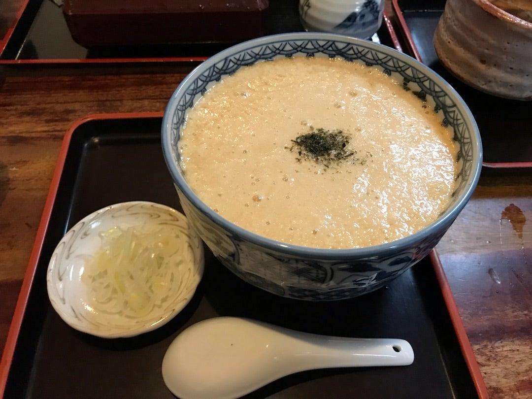 スタミナ抜群!渋谷おくむらのとろろ蕎麦