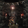 中空婆羅陀巍山神像+洞窟の画像