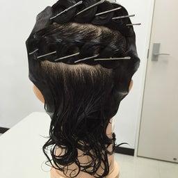 画像 〈美容師国家試験〉オールウェーブセッティングの5種類のカール の記事より 2つ目