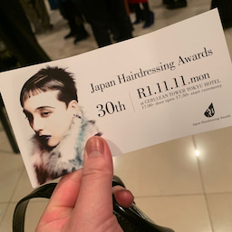 画像 美容業界のアカデミー賞こと【Japan Hairdressing Awards】に行ってきた の記事より 2つ目