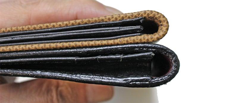 厚さ12mmのフィッティングウォレット