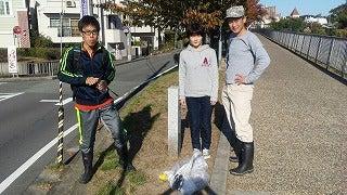 糸田川のそうじ 2019年11月9日(土)