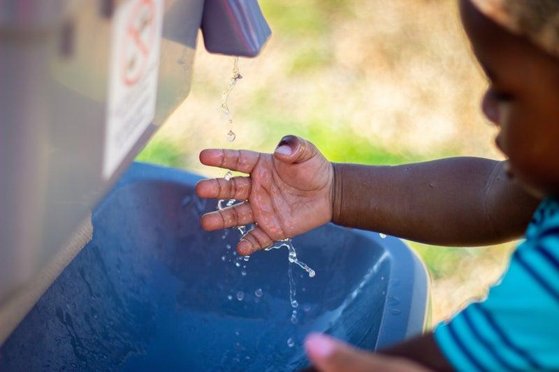 手洗い子供の衛生管理