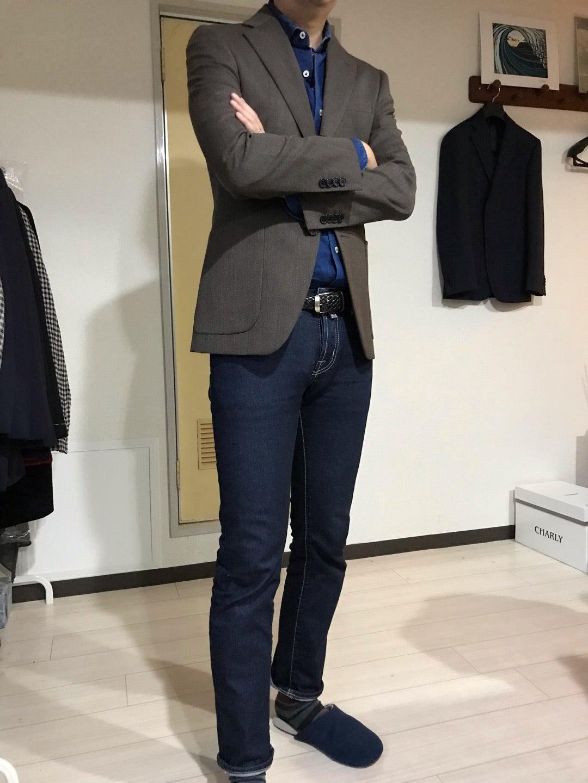 イタリアと日本のハーモニーwear worksジャケパンスタイル