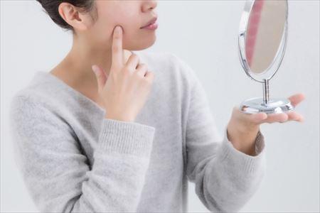 にきびに効く化粧品