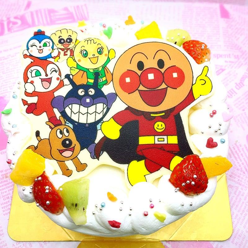 ポップアップイラストフォト アンパンマンと仲間ケーキl 菓の香サプライズケーキ制作実績 サプライズケーキ菓の香公式ブログ
