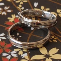 画像 18年たっても、こんなにきれいに出来る結婚指輪(マリッジリング)。。。 の記事より