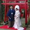 婚礼前写しの画像