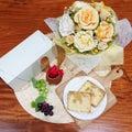 お芋ゴロゴロ♡バターの風味たっぷり 芋屋久兵衛 特製 干し芋 パウンドケーキ