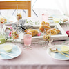 うさぎパンに合わせた春色テーブル紹介♪の画像