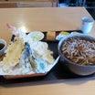 食う・1533 海老天ぷらそば (そば処 吉咲)KISA