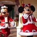 ミッキー&ミニーのグリーティング☆上海ディズニーリゾート(クリスマス2017)