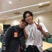 ユノのTシャツノースリかと・・ 足細すぎ…東京 バクステ
