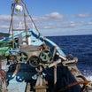 東日本大震災以降の大不漁です。今日はかご漁具の移動作業です。深刻なサケの不漁で倒産、廃業増
