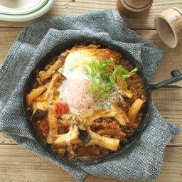 画像 「なかのきのこ新聞」レシピ掲載:ごろごろエリンギとトマトの卵おとし煮 の記事より 1つ目