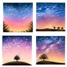 ♡テキスト通信講座「満天の星空/森と天の川」♡描いてくれました!の記事より