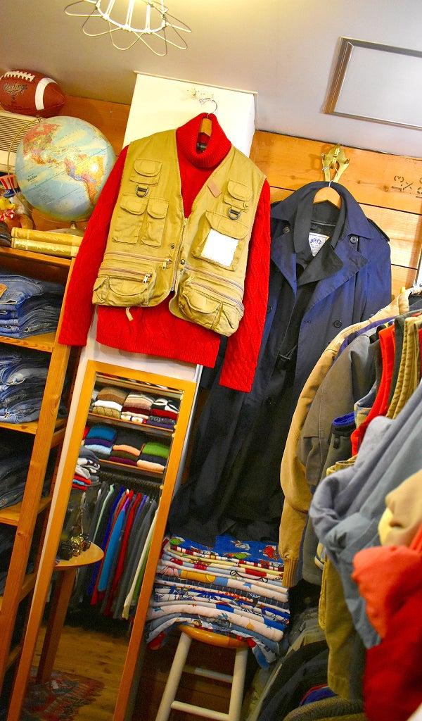 11月店内画像USED CLOTHING@古着屋カチカチ