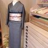 家内安全江戸小紋と椿の名古屋帯の画像