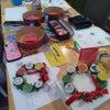 子猫と糸かけクリスマスオーナメントできました!の画像