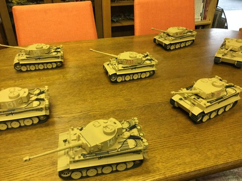 ドイツ軍の重戦車タイガー1型(1)第504重戦車大隊131号車 | 食事処 御来 ...