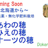 北海道から無農薬栽培の画像