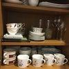 食器棚の整理(片付けチャレンジ五日目です^^)の画像