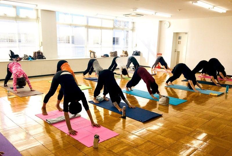 Happy yogaフラーダの画像