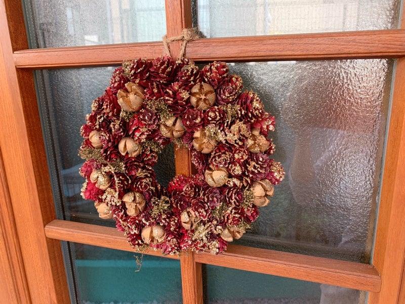 クリスマスリース 青山フラワーマーケット 北欧 スウェーデンハウス