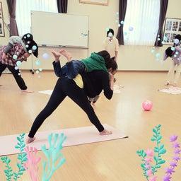 画像 出張レッスン☆親子ヨガ の記事より 1つ目