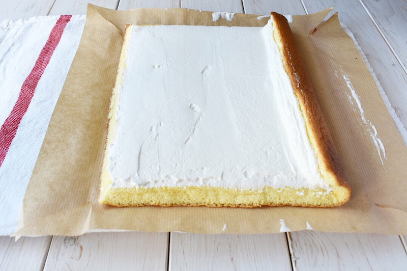 ロール ケーキ レシピ しっとり