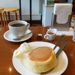 画像 厚切りパンのようなみっちり系ホットケーキ 小野珈琲 の記事より 10つ目