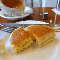 画像 厚切りパンのようなみっちり系ホットケーキ 小野珈琲 の記事より 14つ目