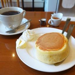 画像 厚切りパンのようなみっちり系ホットケーキ 小野珈琲 の記事より 6つ目