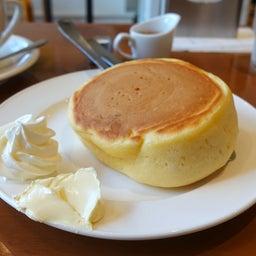 画像 厚切りパンのようなみっちり系ホットケーキ 小野珈琲 の記事より 7つ目