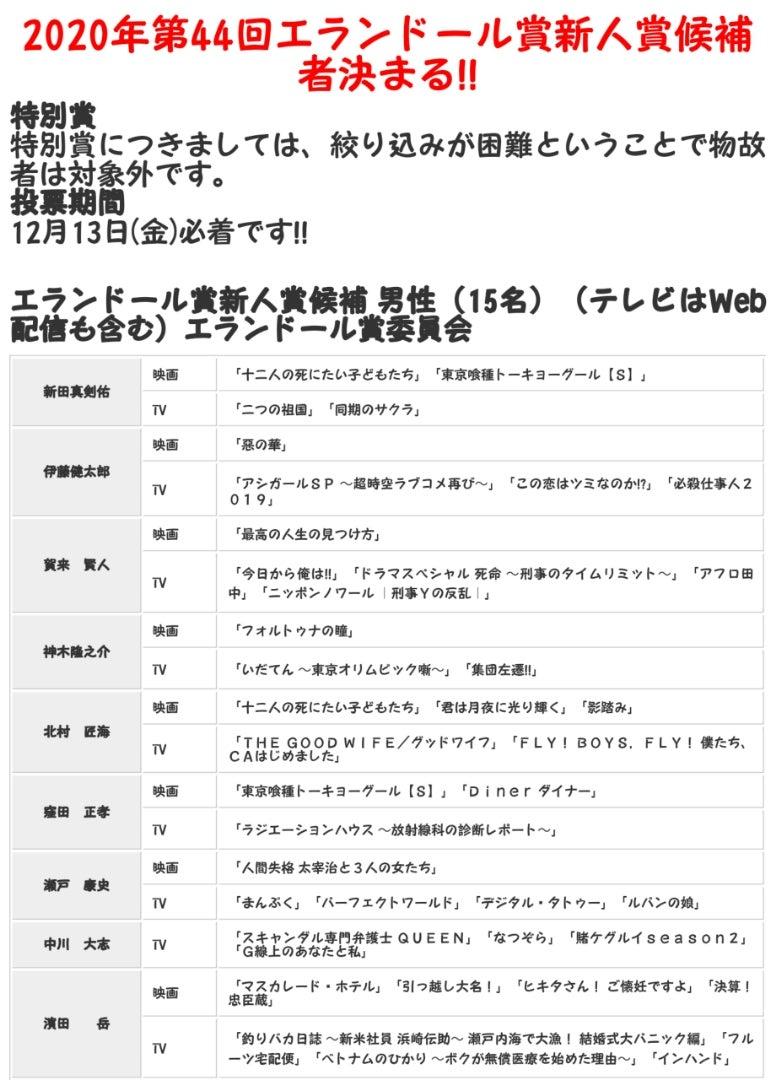 ドール 2021 エラン 賞