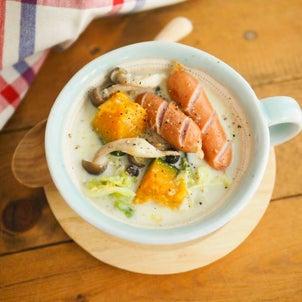 寒い日に嬉しい!豆乳ジンジャースープの画像